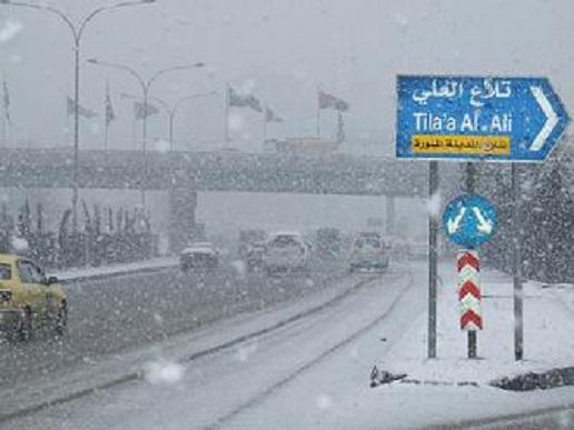 """الأرصاد تكشف لـ""""سرايا""""تفاصيل تساقط الثلوج على المملكة الثلاثاء و مرتفعات عمان في قلب الحدث"""