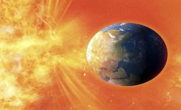 الأرض تتعرض لعاصفة شمسية مدمرة