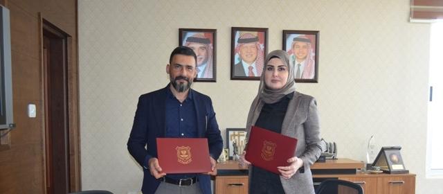 اتفاقية تعاون بين جامعة عمان الأهلية والمعهد الأمريكي لعلوم التوحد