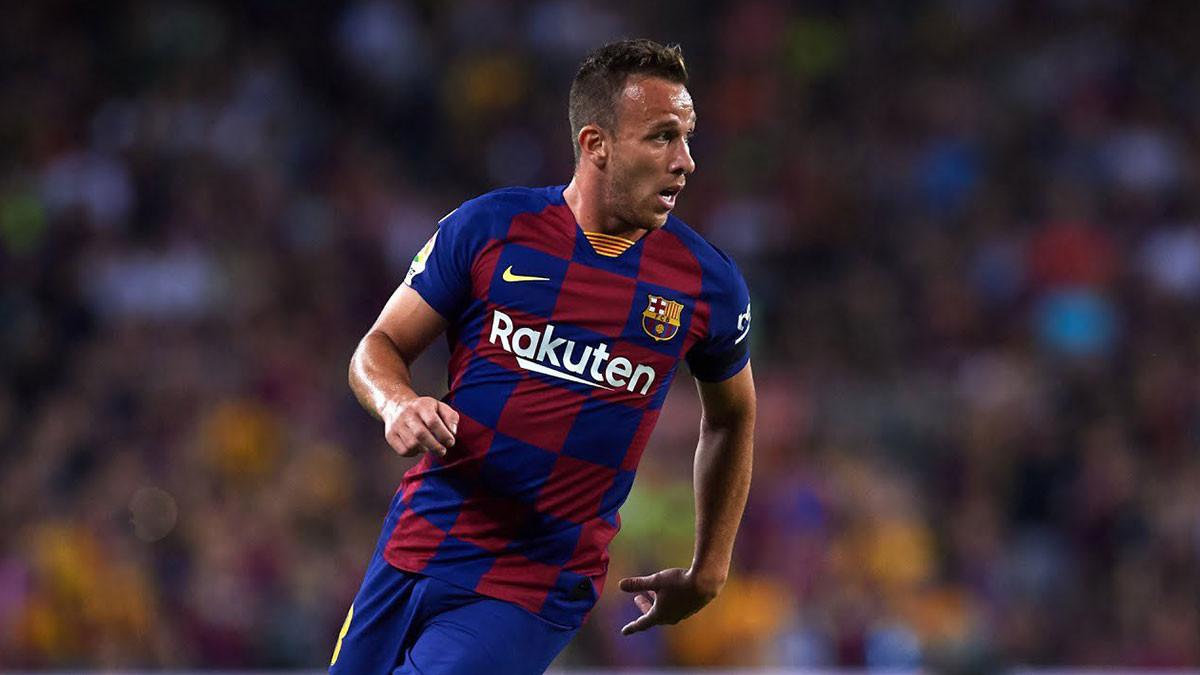 يوفنتوس يتدخل في لحل أزمة نادي برشلونة مع آرثر ميلو  ..  فيديو