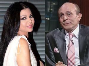 محمد صبحي: هيفاء وهبي سبب آلام الرقبة