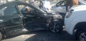 وفاة و 6 إصابات بحادث تصادم 4 مركبات على اوتوستراد الزرقاء