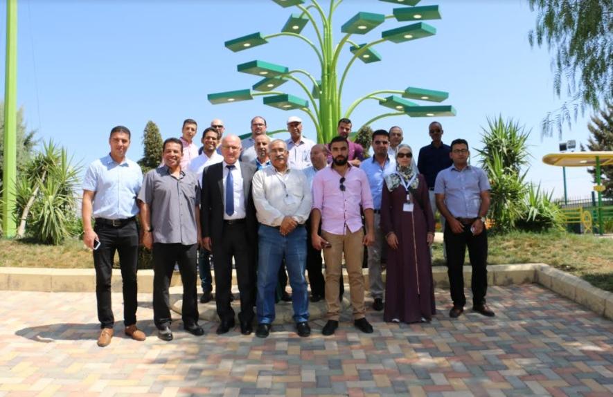 وفد فلسطيني و أردني من قطاع الكهرباء يزور جامعة الزيتونة الاردنية