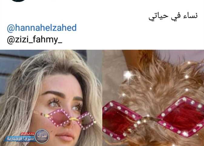 رد فعل مفاجئ ..  أحمد فهمي يحرج هنا الزاهد بعد صورتها بجوار كلبته  ..  صور