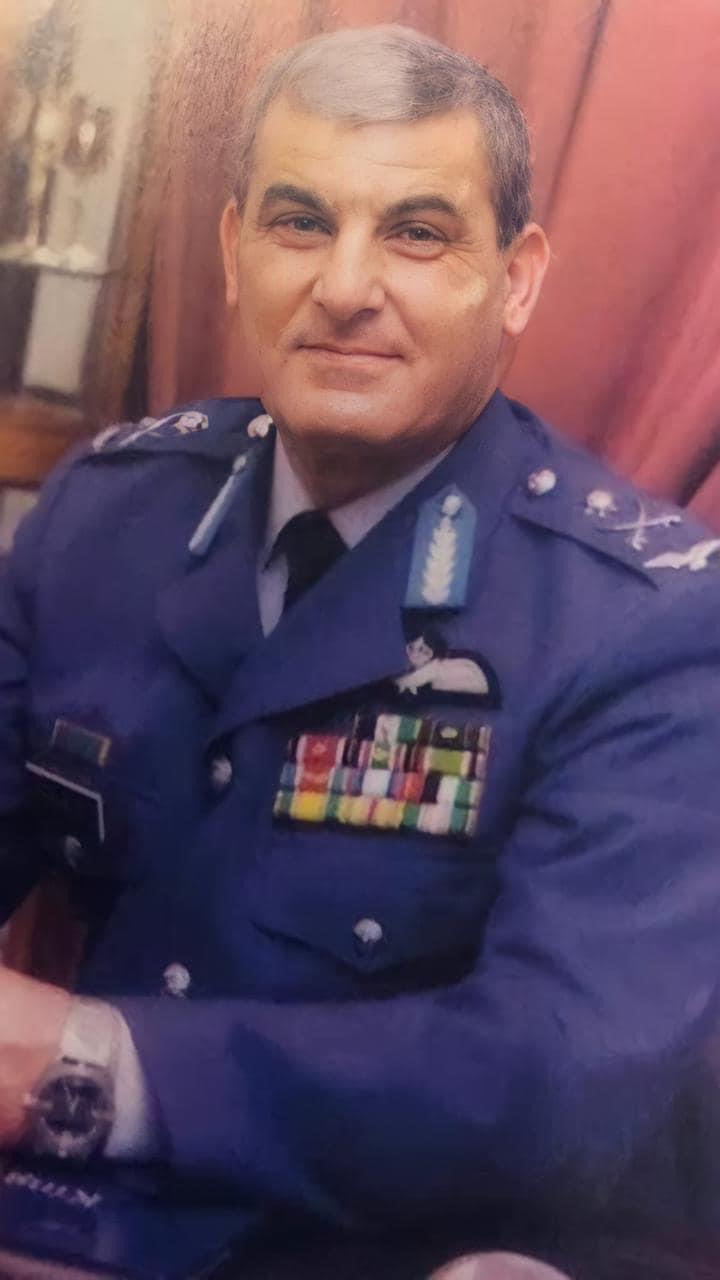 اللواء الركن الطيار زياد باشا الهنانده في ذمة الله