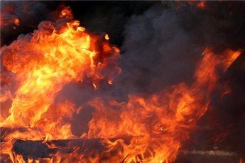 مصرع امرأة اضرمت النار بنفسها في ديمونا