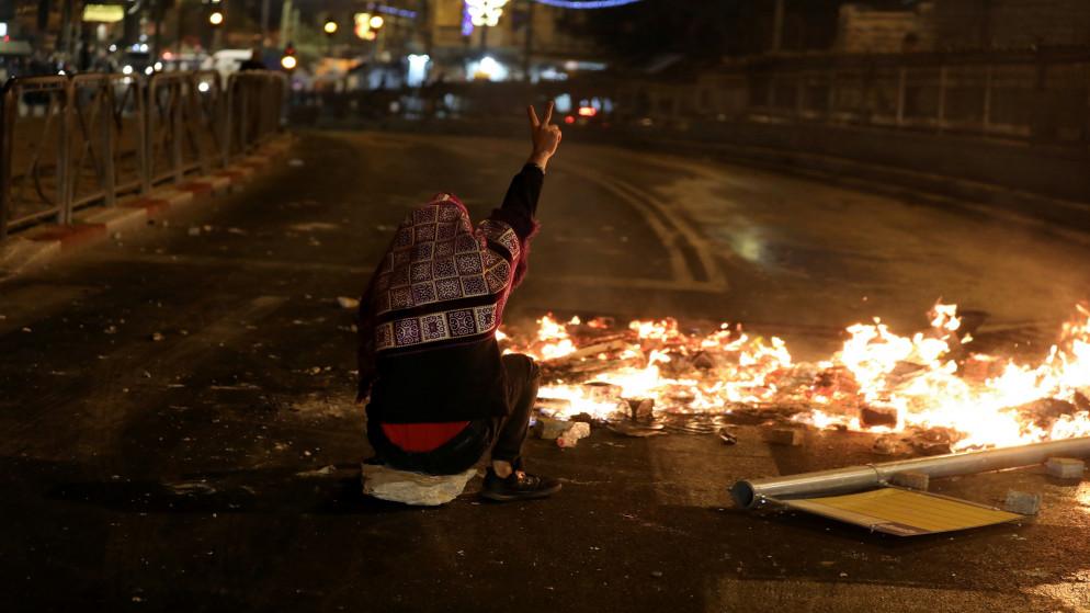 شرطة الاحتلال الإسرائيلي تغلق باب حطة المؤدي للمسجد الأقصى