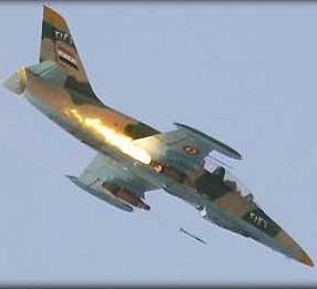 طيار سوري ينشق ويقصف مواقع لجيش النظام بطائرته