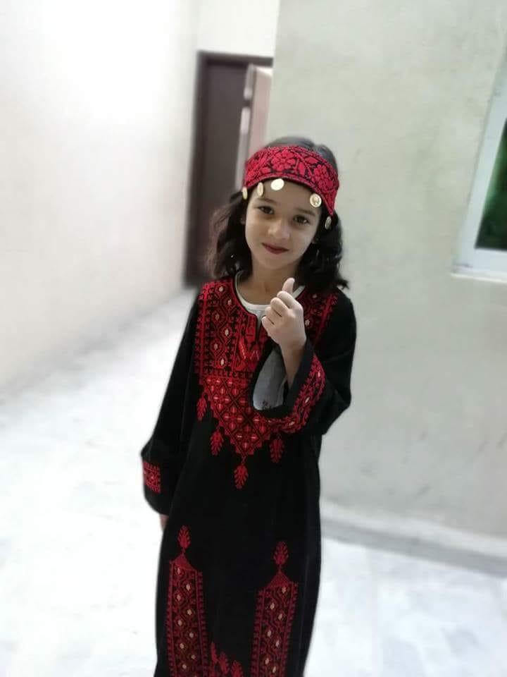 الطفلة سارة الحوامدة تطفئ شمعتها الخامسة