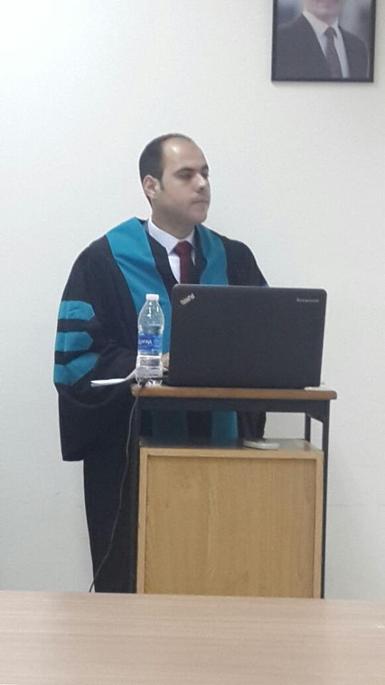 هشام المطارنة مبارك الماجستير
