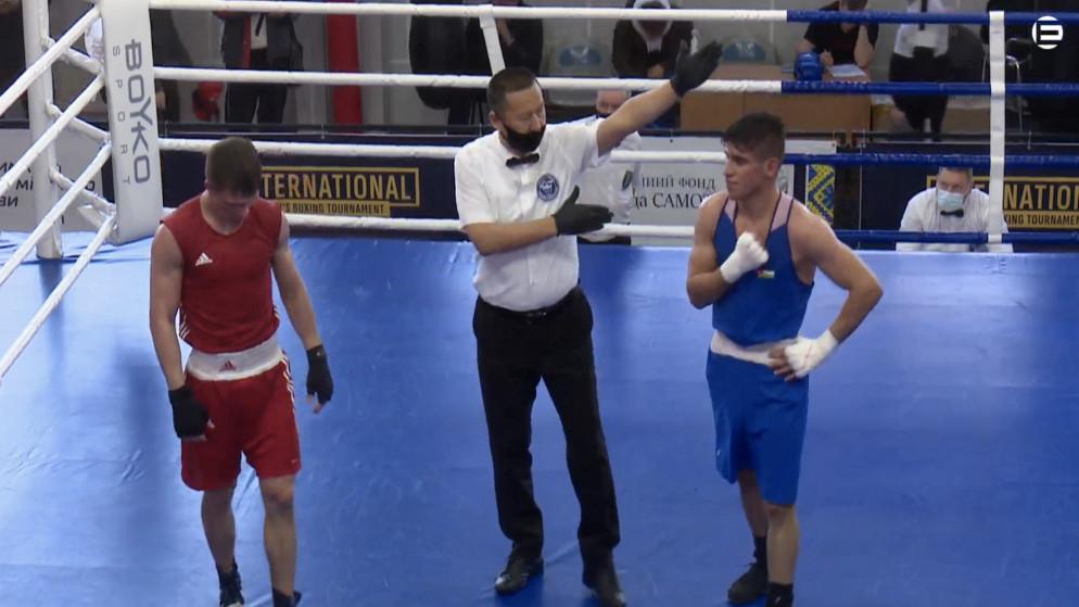 الملاكم زياد عشيش يتأهل إلى نهائي بطولة أوكرانيا الدولية