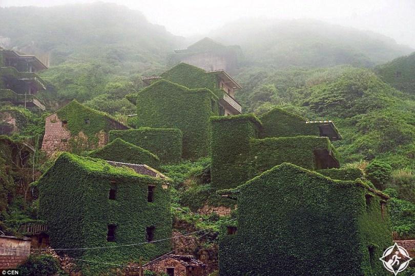 من الصين ..  حينما تتحول قرية مهجورة إلى فسيفساء جميلة من الطبيعة .. صور