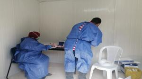 تثبيت 6 محطات لسحب عينات للفيروس في جرش
