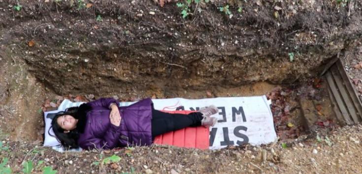 جامعة هولندية تقول لطلبتها تذكروا أنكم ستموتون واحجزوا قبركم! ..  فيديو وصور