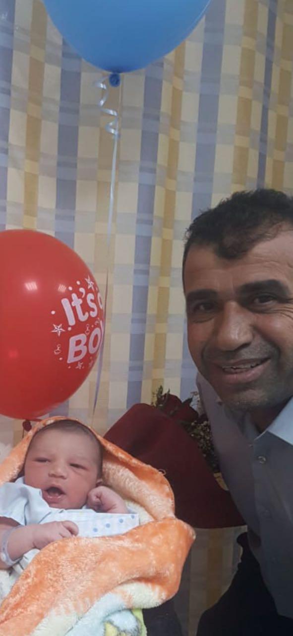 """مبارك """"محمد شكوكاني"""" المولود الجديد """"صهيب"""""""