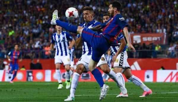 بالفيديو ..  برشلونة يكتسح سلتا فيغو بخماسية