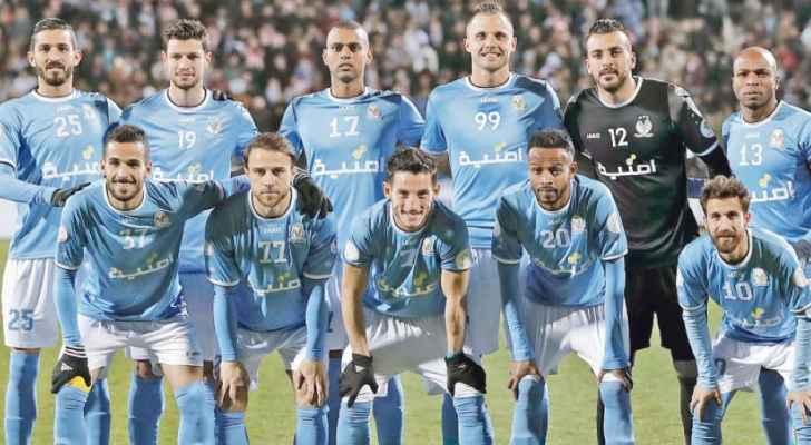 مباراتان للوحدات والفيصلي في الدوري السبت