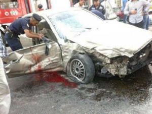 وفاة مدير بنك الدم بمستشفى الامير حمزة بحادث مؤلم فجراً بعد خروجه من منزله لإنقاذ مريض بالدم