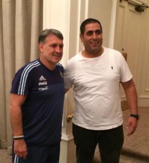 الأردني عبد القادر يشارك بدورة معايشة مع منتخب الأرجنتين