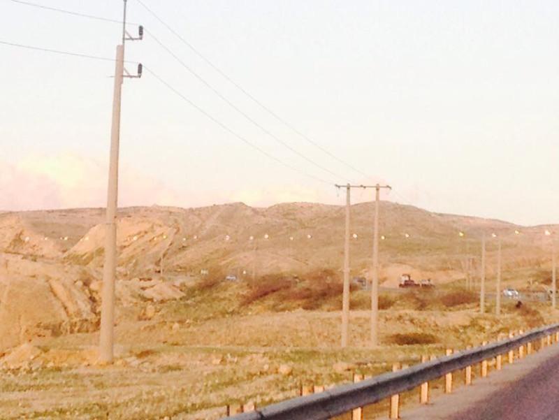 شارع فرعي زراعي أمام جامعة عجلون الوطنية مضاء 24 ساعه