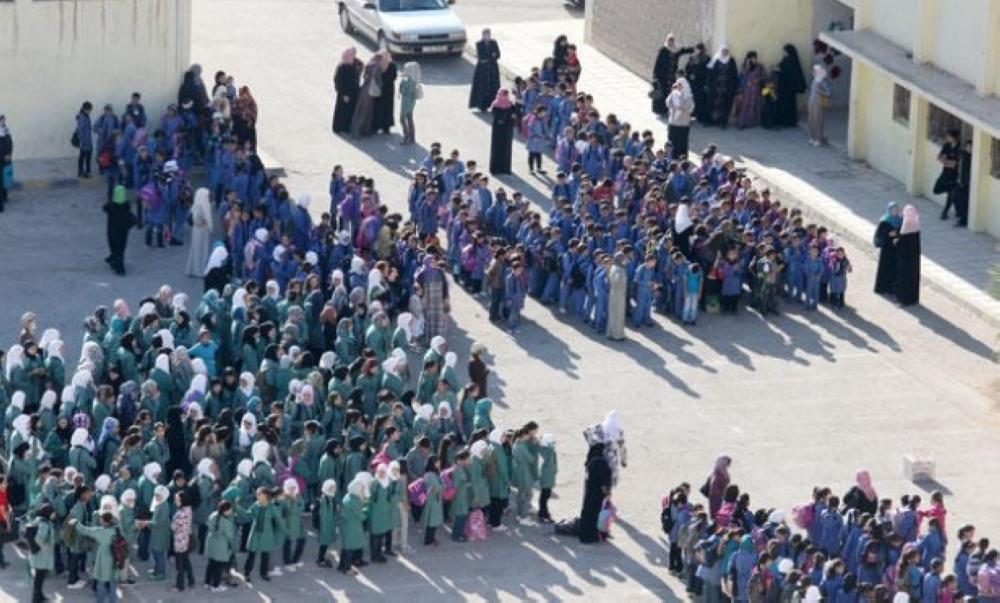 (2) مليون طالب يلتحقون بالمدارس بداية الاسبوع المقبل