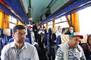 بالصور: الفوج الاول من حجاج غزة يغادر اليوم عبر معبر رفح الى الديار الحجازية