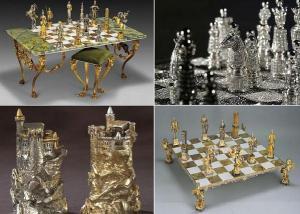 بالصور .. رقع شطرنج من الذهب والألماس ثمنها 9 ملايين دولار