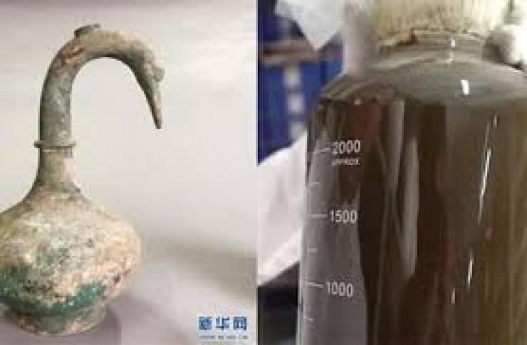 اكتشاف سر شراب صيني عمره أكثر من 2000 عام