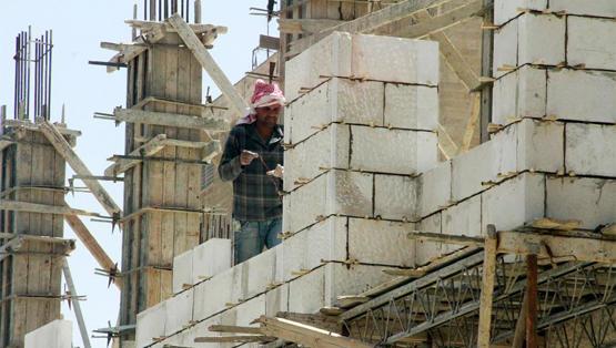 انخفاض 55% بمساحة الأبنية المرخصة في الأردن