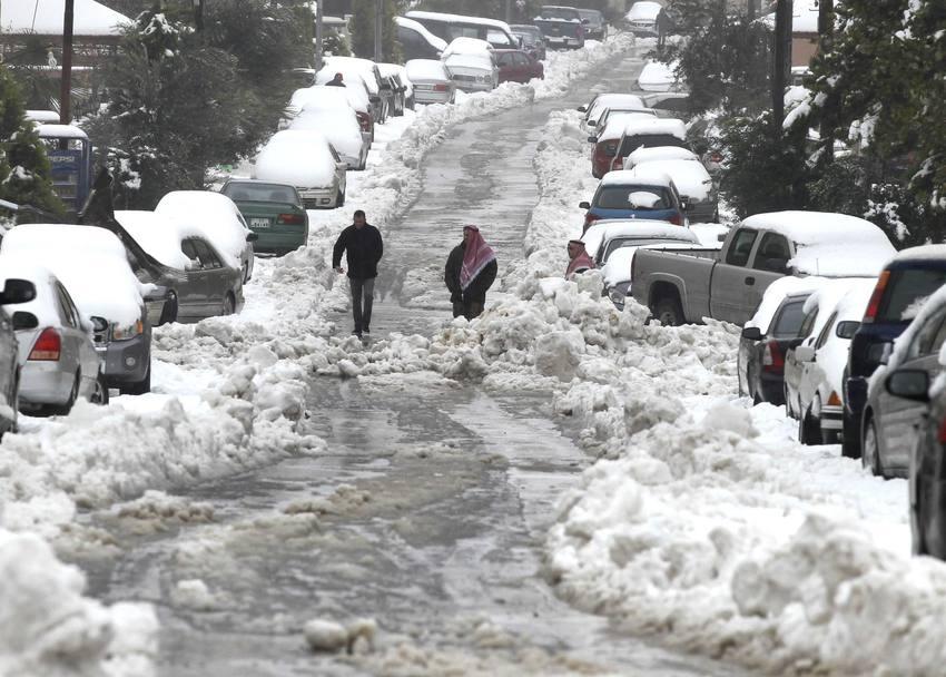 ما حقيقة العاصفة الثلجية على ارتفاع 300 متر التي ستضرب الأردن وفلسطين وسوريا؟!