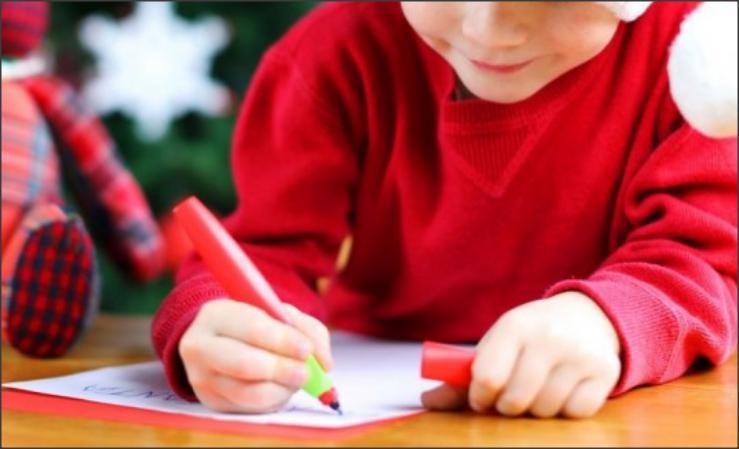 رسالة طفل إلى بابا نويل تُثير الذعر