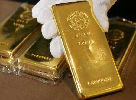 استقرار أسعار الذهب بالقرب من أدنى مستوياته خلال أسبوعين