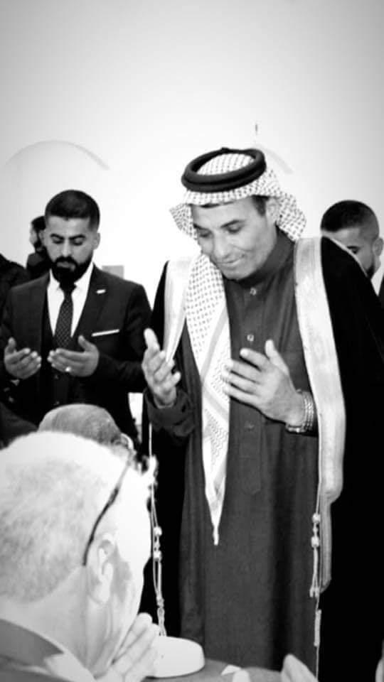 نعي الشيخ يوسف جلال مرزوق القلاب العموش