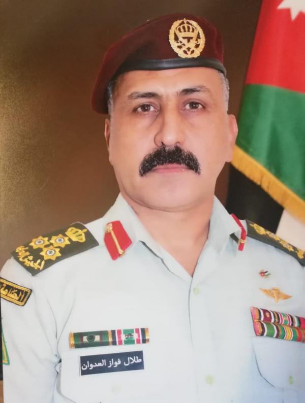 العميد طلال لعدوان مبارك المنصب الجديد