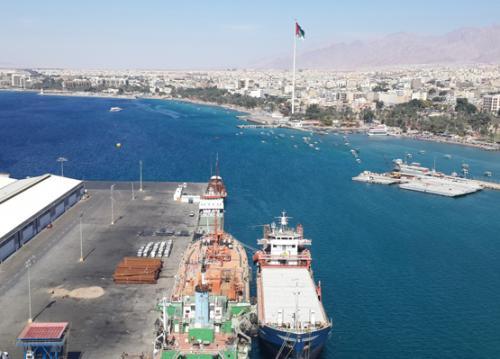 زيادة مناولة البضائع في إقليم العقبة بنسبة 42%