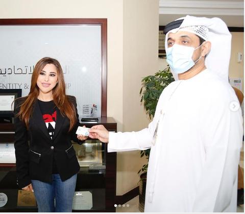 """بالصور  ..  نجوى كرم تنضم إلى محمد رمضان ورونالدو وراغب علامة في """"ميزة استثنائية"""" من الإمارات"""