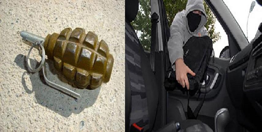 الكرك: حدث يسرق 5 آلاف دينار  ..  ومواطن يعثر على قنبلة يدوية