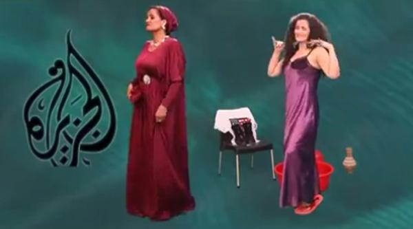 بالفيديو  ..  الشيخة موزة فى صورة غير لائقة بأغنية سما المصري تثير غضب قطر