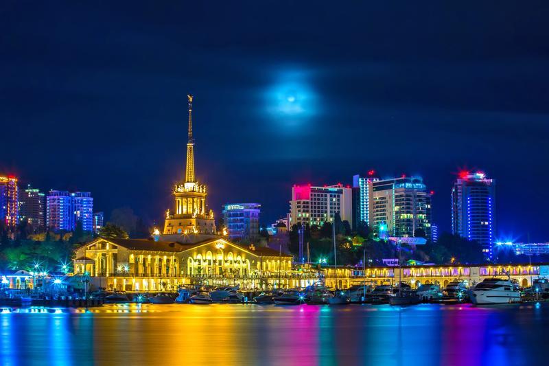سوتشي أجمل مدينة على البحر الأسود