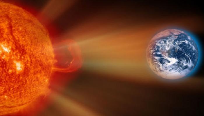 فلكي أردني: عاصفة شمسية مغناطيسية تقترب من الأرض و هذا موعدها