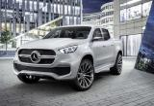 بالصور .. مرسيدس بنز تكشف الستار عن X-Class بيك أب كونسيبت Mercedes-Benz