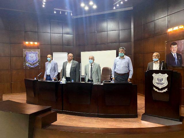انتخابات مجلس إدارة نادي الأرينا برئاسة الحوراني