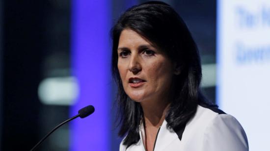 نيكي هيلي: القوات الأمريكية لن تغادر سوريا و سنفرض عقوبات على روسيا