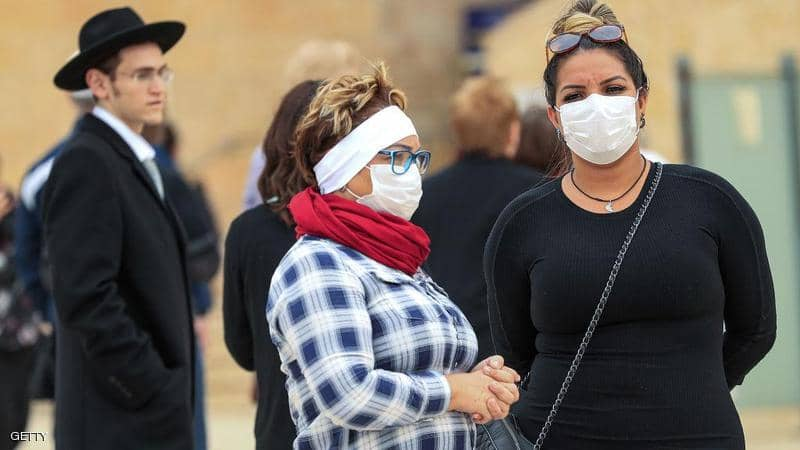 4 وفيات و 148 إصابة جديدة بكورونا في الكيان الصهيوني