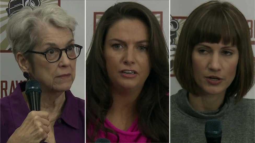 قصة (3) سيدات اتهمن ترامب بالتحرش جنسياً بهن  ..  صور