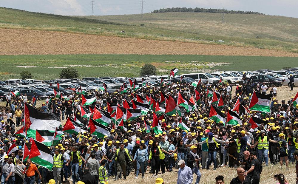 """عدد الفلسطينيين تضاعف تسع مرات منذ نكبة 1948  ..  """"تفاصيل"""""""