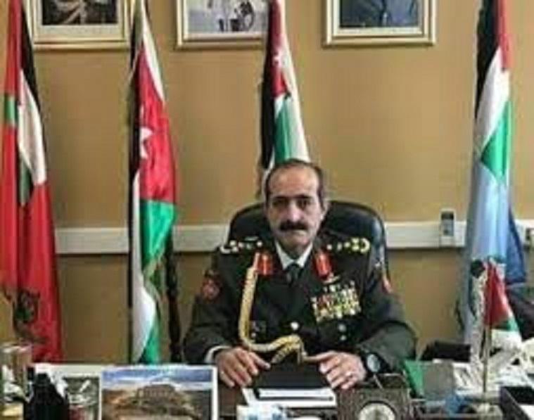 اللواء الركن محمد السبايلة مبارك الترفيع