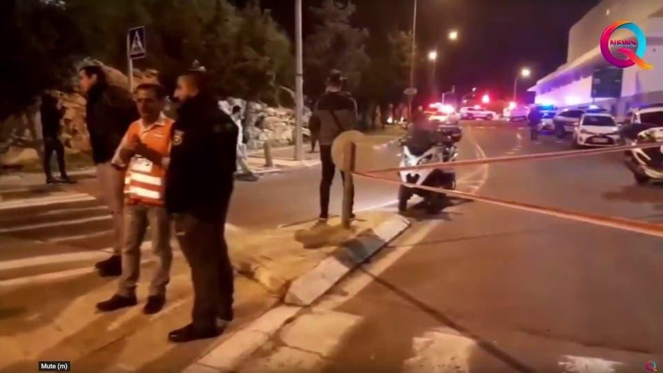 بالصور و الفيديو  ..  إصابة 14 جندياً صهيونياً بعملية دهس بالقدس