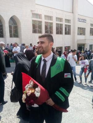 يزن الجزازي مبارك التخرج