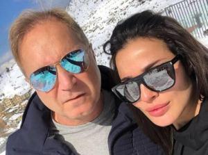 شاهدوا  ..  بسبب تعليق على فيديو  ..  متابعو نادين نجيم يكشفون سبب انفصالها عن زوجها